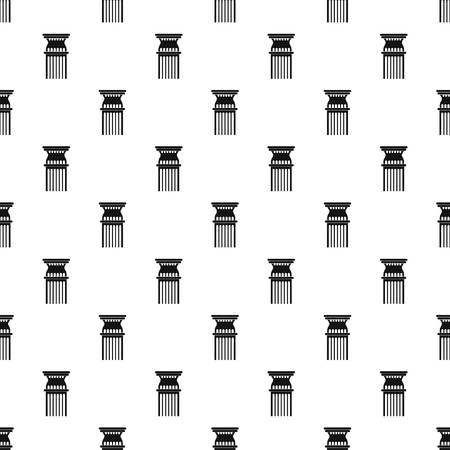 Column pattern seamless