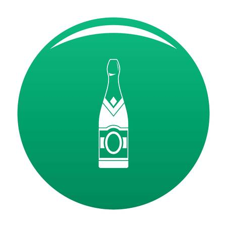 Sweet champagne icon green