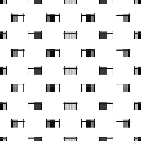 Fence with ball pattern seamless vector Vecteurs