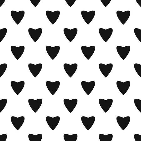 Proud heart pattern seamless vector repeat geometric for any web design 版權商用圖片 - 111434020