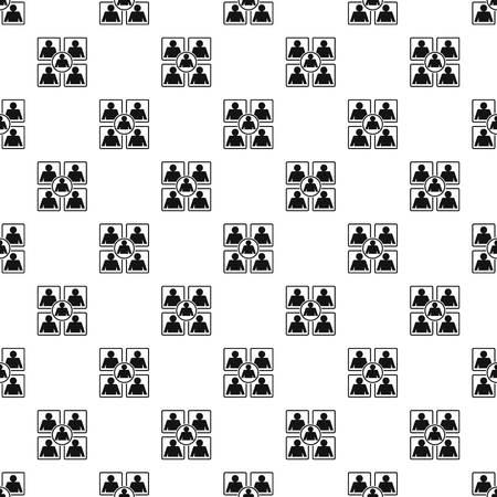Business pattern seamless vector