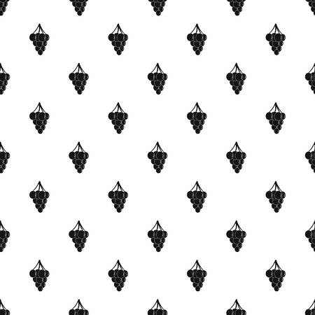 Southerly burger pattern seamless vector repeat geometric for any web design Иллюстрация