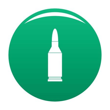 Bullet icon vector green