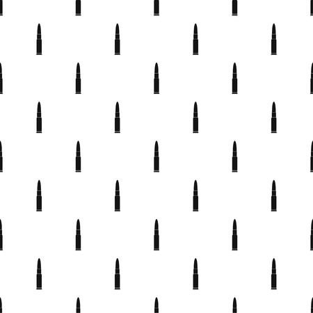Weapon cartridge pattern seamless vector Çizim
