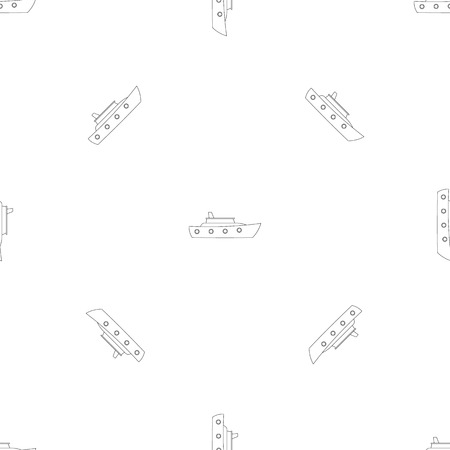 Launch pattern seamless vector