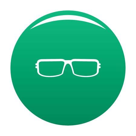 M icon vector green