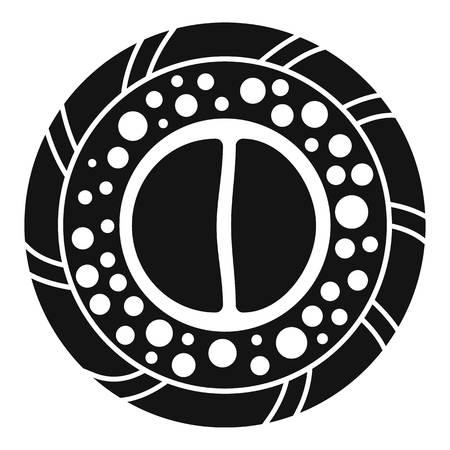 Rice mix sushi icon. Simple illustration of rice mix sushi vector icon for web design isolated on white background Ilustração