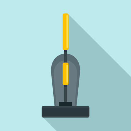 Old hand vacuum cleaner icon. Flat illustration of old hand vacuum cleaner vector icon for web design