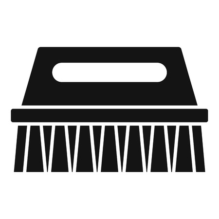 Wash brush icon. Simple illustration of wash brush vector icon for web design isolated on white background