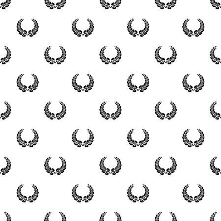 Award wreath pattern seamless vector