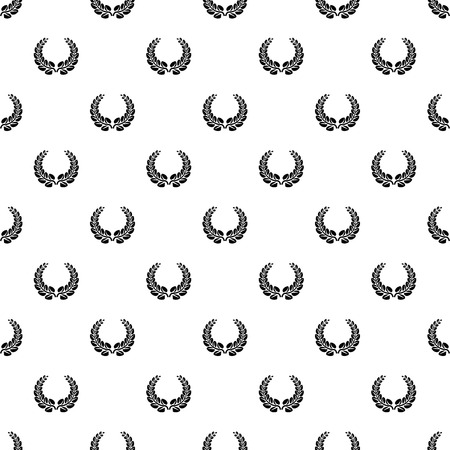 Award wreath pattern seamless vector