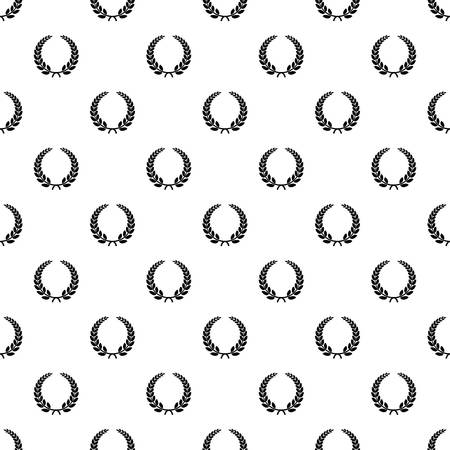 Triumph wreath pattern seamless vector
