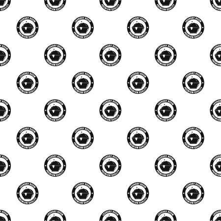 Laundry premium room pattern seamless vector Illustration
