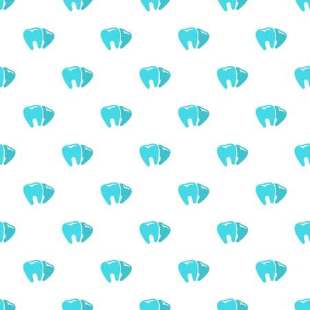 Bad tooth pattern seamless vector