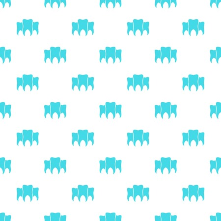 Brittle tooth pattern seamless vector