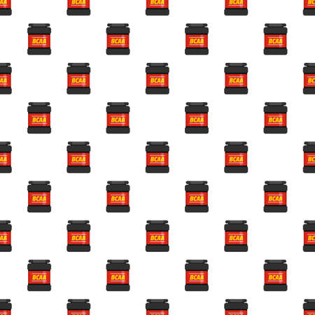 BCAA pattern seamless vector repeat for any web design Vettoriali