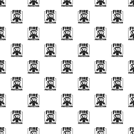Fire protection pattern seamless vector repeat geometric for any web design