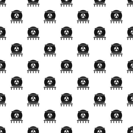 Nuclear energy pattern seamless vector repeat geometric for any web design