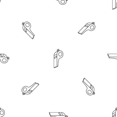 Loud whistle pattern seamless vector repeat geometric for any web design Иллюстрация