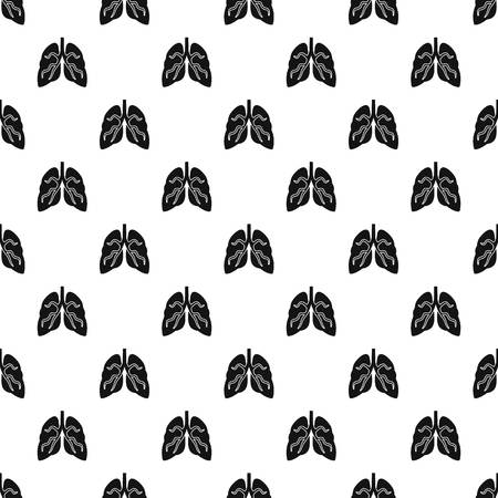 Tuberculosis lungs pattern seamless vector