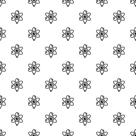 Atom pattern seamless vector repeat geometric for any web design
