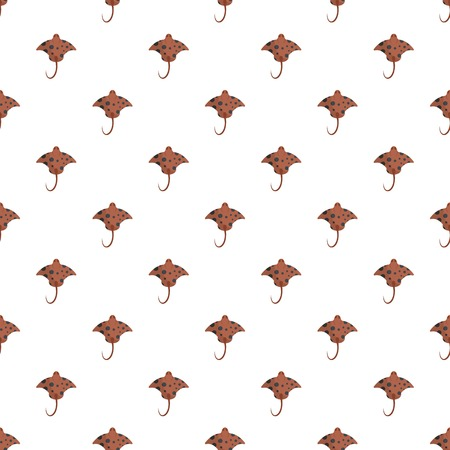 Stingray pattern seamless vector repeat for any web design Illustration