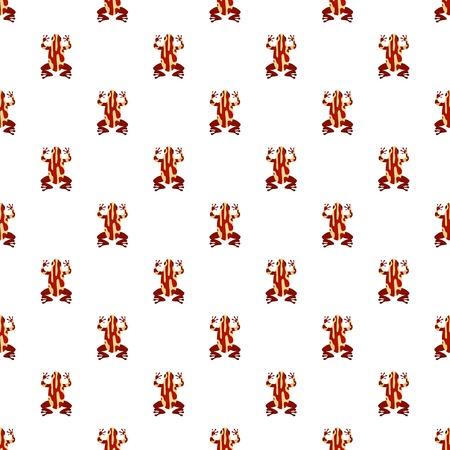 Frog pattern seamless vector repeat for any web design