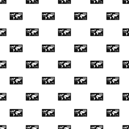 Credit bank pattern seamless vector repeat geometric for any web design