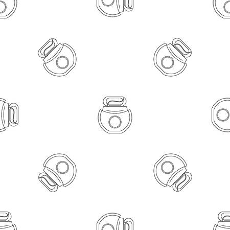 Floss open box pattern seamless vector repeat geometric for any web design