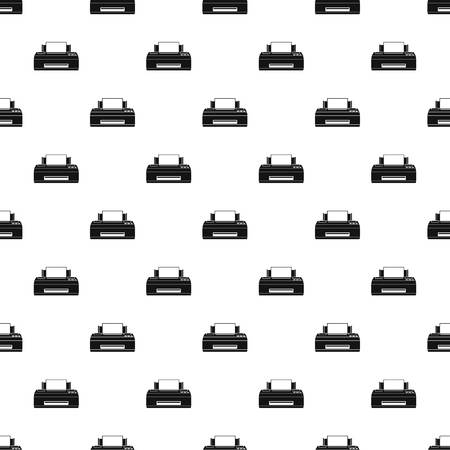 Old printer pattern seamless vector repeat geometric for any web design Ilustrace