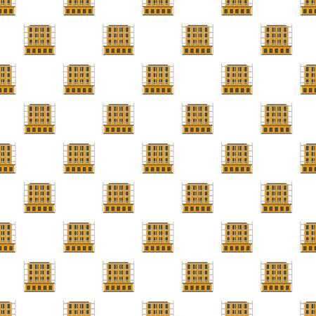 Scaffolding pattern seamless vector