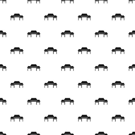Asian arch pattern seamless vector