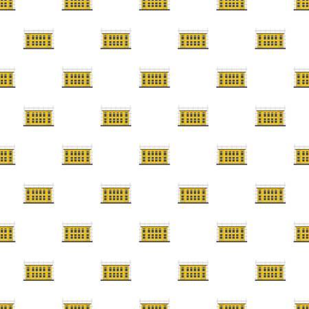 School construction pattern seamless vector