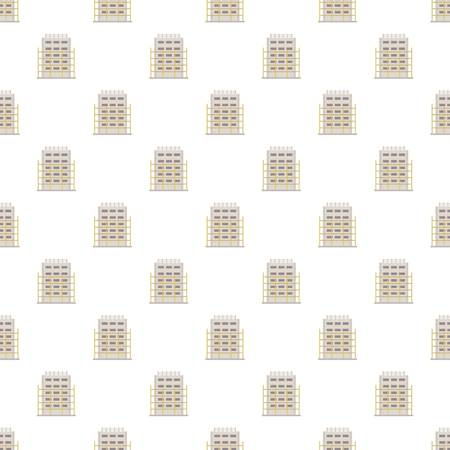 House project pattern seamless vector