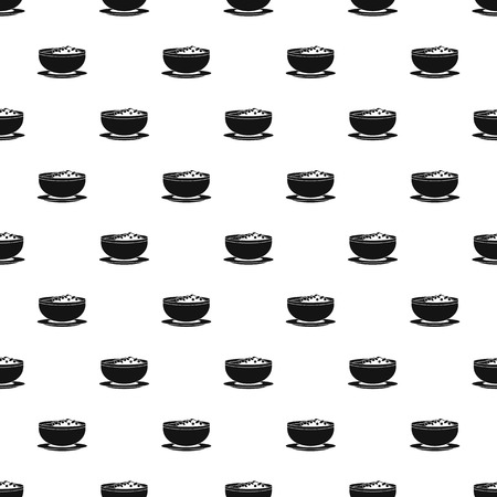 Vietnam food pattern seamless vector repeat geometric for any web design