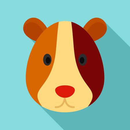 Seeschwein-Symbol. Flache Illustration der Seeschweinvektorikone für Webdesign Vektorgrafik