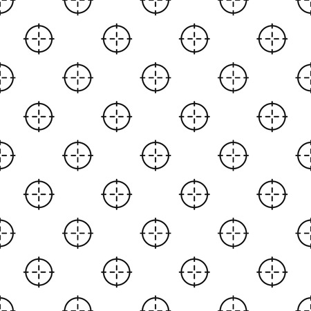 Optical sight pattern seamless vector