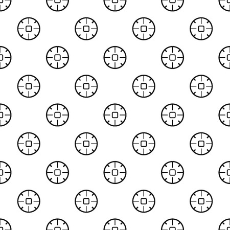 Sniper sight pattern seamless vector repeat geometric for any web design