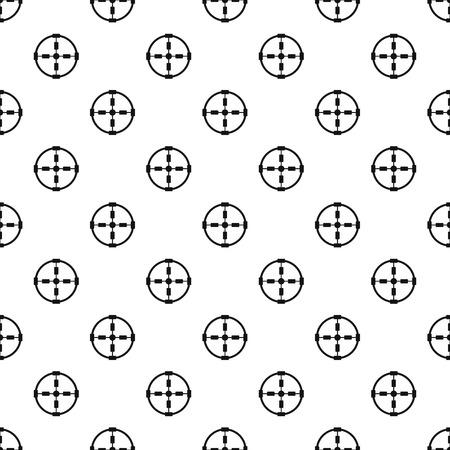 Police aim radar pattern seamless vector