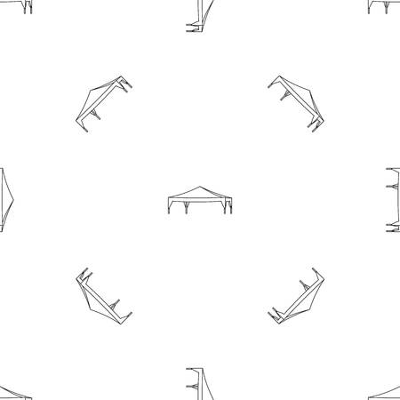 Event tent pattern seamless vector repeat geometric for any web design