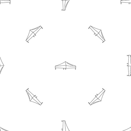 Tent pattern seamless vector repeat geometric for any web design