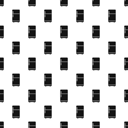 Retro fridge pattern seamless vector repeat geometric for any web design 向量圖像