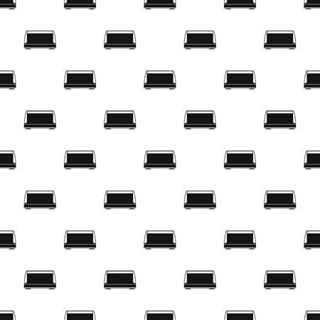 Commercial fridge pattern seamless vector