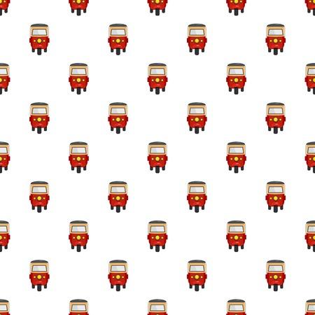 Thailand taxi pattern seamless vector Иллюстрация