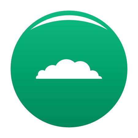 Climate icon green