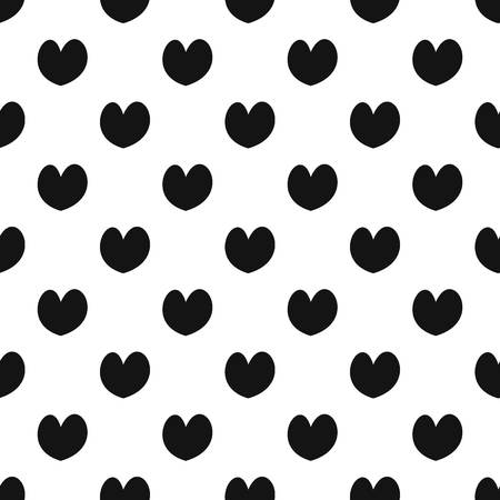 Reliable heart pattern seamless