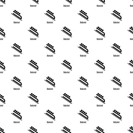 Bobsled pattern seamless Standard-Bild