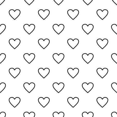 Ardent heart pattern seamless Reklamní fotografie