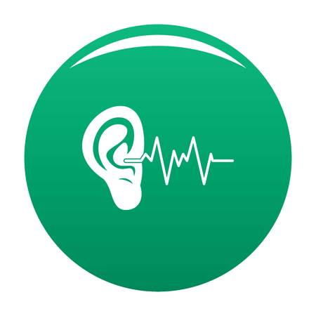 Ear icon green