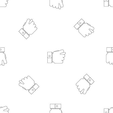 Fig gesture pattern seamless